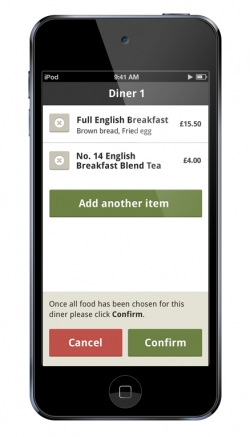 Mobile Waiter App - Table Management